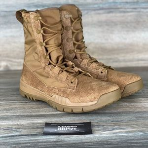 """Nike SFB Field 8"""" Leather Boots Size 5.5 Coyote"""